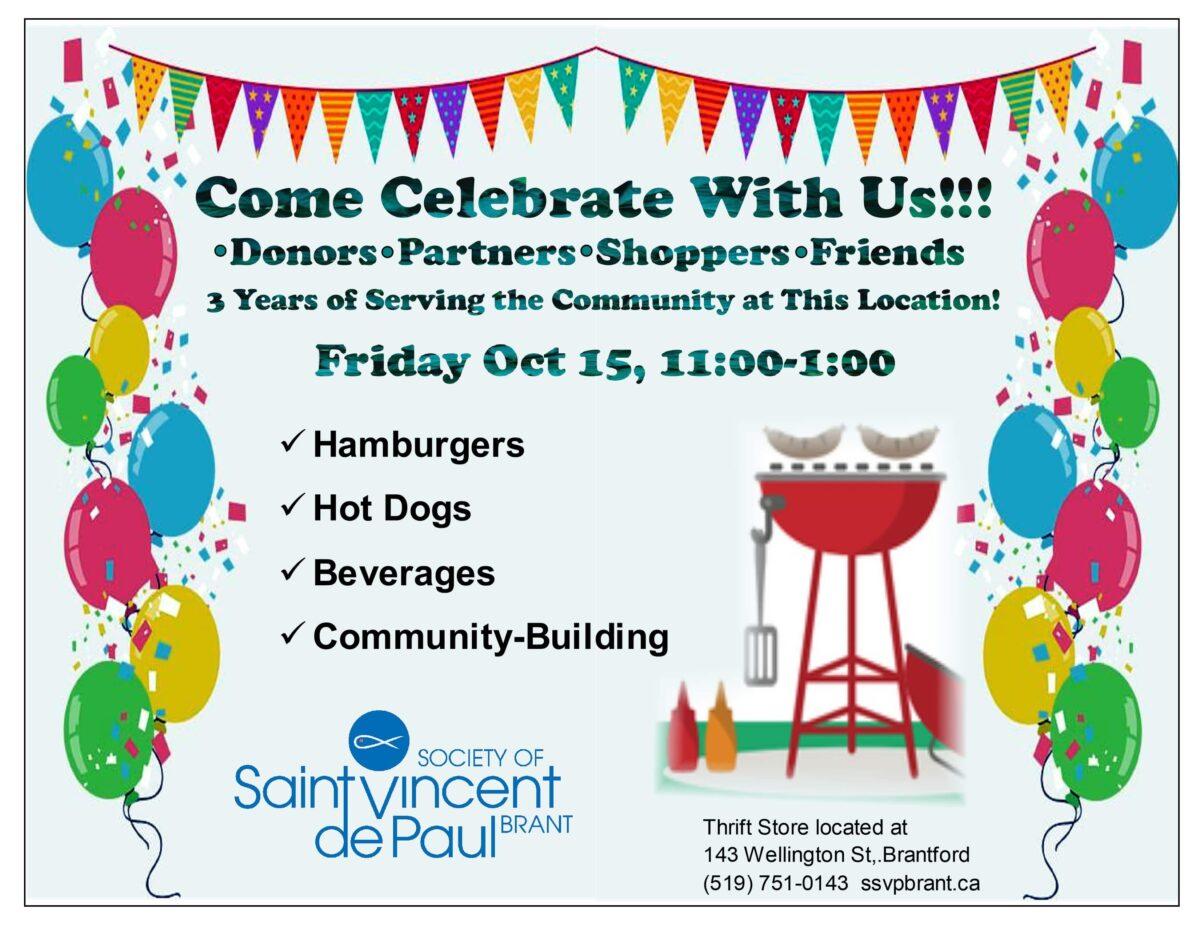 St. Vincent de Paul Thrift Store Celebrates 3rd Anniversary
